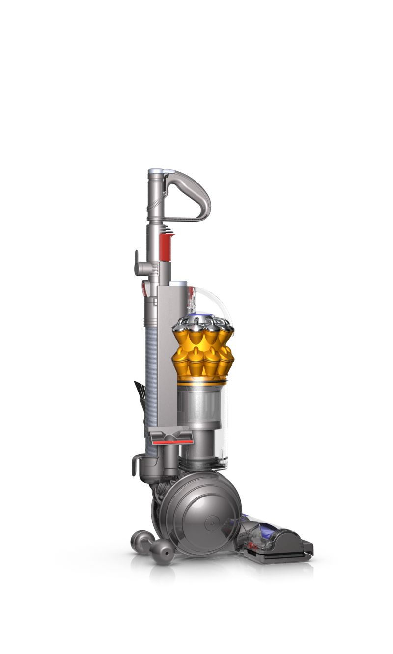 how to clean dyson small ball